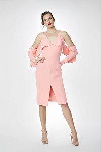 Vestido Midi Cosh Rosa