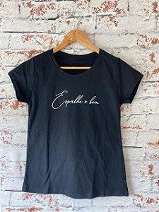 Camiseta Espalhe o Bem Preta