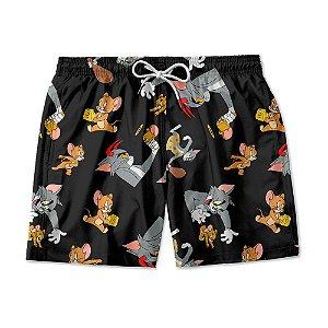 Short Masculino Tom e Jerry.