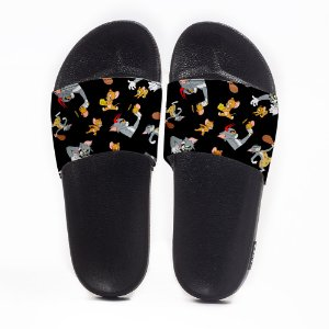 Chinelo Slide Masculino Tom & Jerry Use Nerd