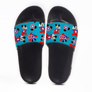 Chinelo Slide Masculino Mickey America Use Nerd