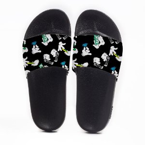 Chinelo Slide Masculino Mickey Money Use Nerd
