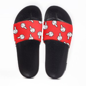 Chinelo Slide Masculino Mickey Mouse Use Nerd