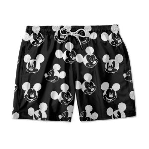 Short De Praia Estampado Mickey Mouse Use Nerd