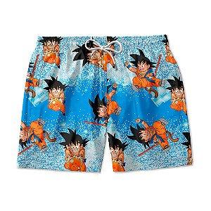 Short De Praia Estampado Dragon Ball Z Use Nerd
