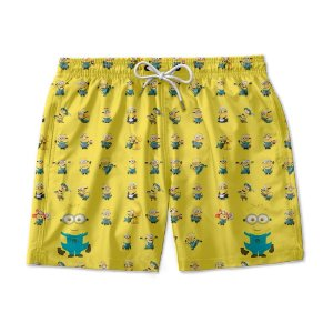 Short De Praia Estampado Minions Use Nerd