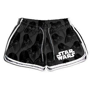 Short Praia Estampado Feminino Star Wars Use Nerd