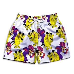 Short Praia Estampado Infantil Mutley Use Nerd