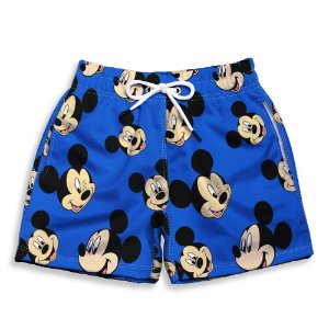 Short Praia Estampado Infantil Mickey Use Nerd
