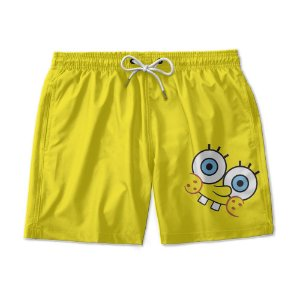 Short Praia Estampado Bob Esponja Use Nerd