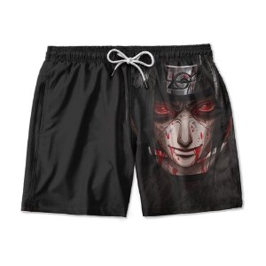 Short Praia Estampado Itachi Uchiha Use Nerd
