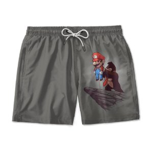 Short Praia Estampado Mario Bross Use Nerd