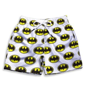 Short Praia Estampado Infantil Batman Use Nerd