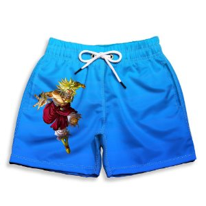 Short Praia Estampado Infantil Broly Use Nerd