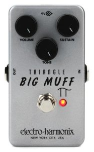 Pedal Ehx Triangle Big Muff Pi Distortion Sustainer