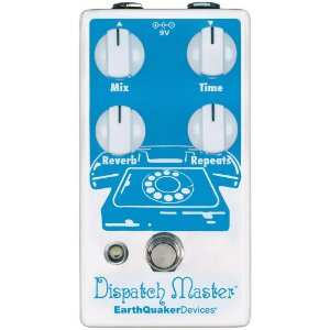 Pedal Dispatch Master V3 Delay Reverb Earthquaker Devices