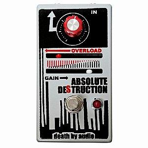 Pedal Death By Audio Absolute Destruction Fuzz