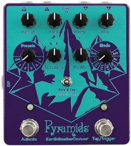 Pedal Earthquaker Devices Pyramids Stereo Flanging Device
