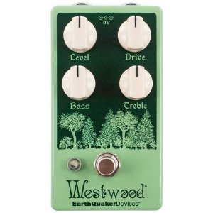 Pedal Earthquaker Devices Westwood Translucent Drive Manipulator