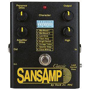 Pedal SansAmp Classic Tech 21 Original Pedal
