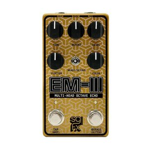 Pedal EM-III Solid Gold Fx Multi-head Octave Echo