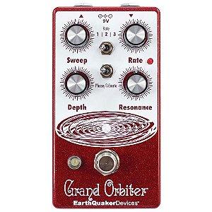 Pedal Grand Orbiter V3 Phaser Earthquaker Devices 4 Estagios