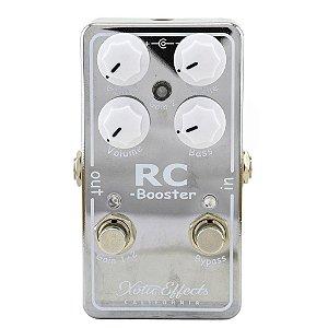 Pedal Xotic Rc Booster Guitar Boost - Versão 2