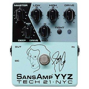 Tech 21 Geddy Lee Signature Sansamp Yyz