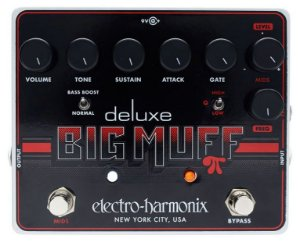 Ehx Deluxe Big Muff Pi Distortion Sustainer Gate
