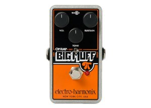 Pedal Electro Harmonix Op Amp Big Muff Distortion Sustainer