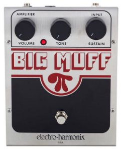 Pedal Ehx Big Muff Pi Classic Distortion Sustainer