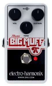 Pedal Ehx Nano Big Muff Distortion - Electro Harmonix
