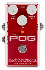 Pedal Ehx Nano Pog Octave - Electro Harmonix