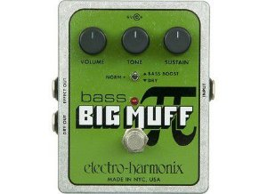 Pedal Ehx Bass Big Muff Distortion - Electro Harmonix