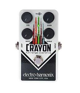 Pedal Ehx Crayon 69 Full Range Overdrive - Electro Harmonix