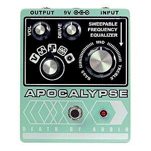 Pedal Death By Audio Apocalypse Distortion & Eq