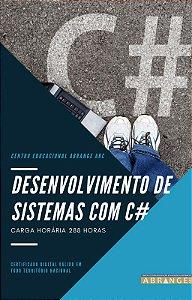 Desenvolvimento de Sistemas com C# - Carga horária 288 horas