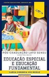 Educação Especial e Educação Fundamental - 450 horas
