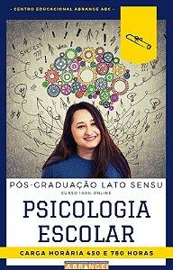 Psicologia Escolar - 450 / 780 horas