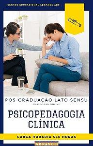 Psicopedagogia Clínica - 540 horas