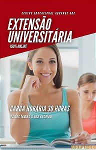 Extensão Universitária 30 Horas