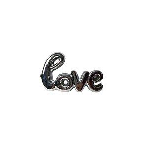 Escultura Love de Cerâmica Prata GDR0207