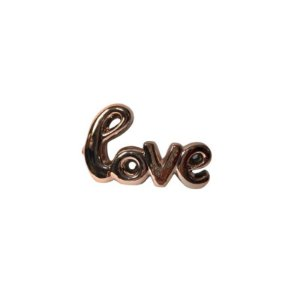 Escultura Love de Cerâmica Rosê GDR0207