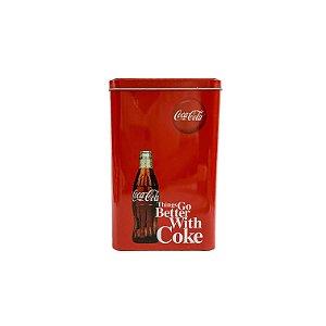 Lata Coca Cola Retangular
