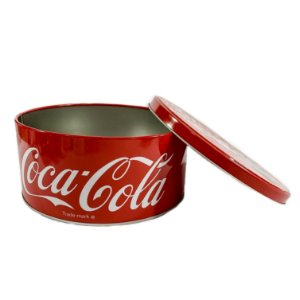 Lata Coca Cola Média