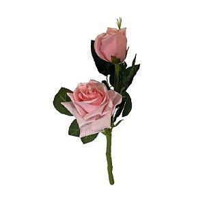 Galho de Rosa Diamante