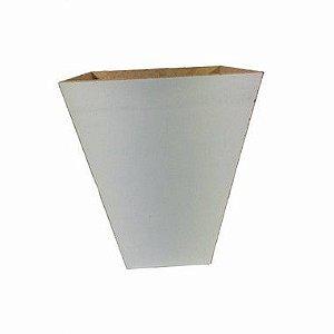 Vaso de Madeira Ludmila Branco