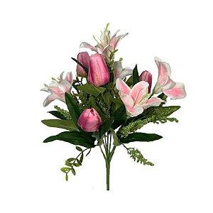 Buque de Lirio e Tulipa Lais