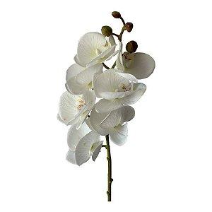 Galho de Orquídea Siliconada Fran DM-0013BR