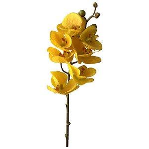 Galho de Orquídea Siliconada Fran DM-0013AM